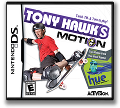 Tony Hawk's Motion DS cover (CTWE)