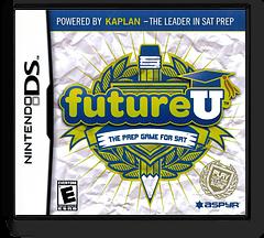 futureU - The Prep Game for SAT DS cover (CUTE)
