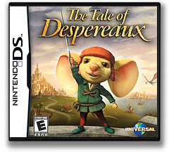 The Tale of Despereaux DS cover (CUXE)