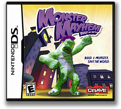 Monster Mayhem - Build and Battle DS cover (CVNE)