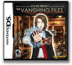 Cate West - The Vanishing Files DS cover (CWFE)