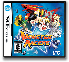 Monster Racers DS cover (CXME)