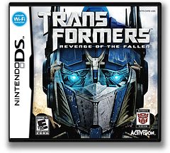 Transformers - Revenge of the Fallen - Autobots Version DS cover (CXRE)
