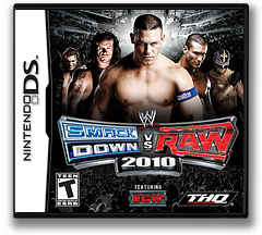 WWE SmackDown vs Raw 2010 featuring ECW DS cover (CXUE)