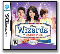 Wizards of Waverly Place DS cover (CY7E)