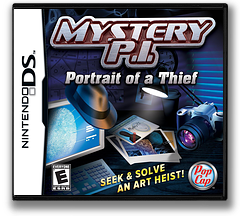 Mystery P.I. - Portrait of a Thief DS cover (CYIE)