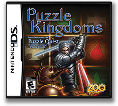 Puzzle Kingdoms DS cover (CZNE)