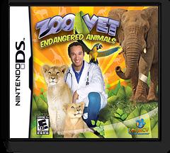 Zoo Vet - Endangered Animals DS cover (CZVE)