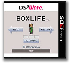 Art Style Series - BOXLIFE DSiWare cover (KAHE)