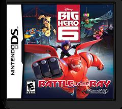Disney Big Hero 6 - Battle in the Bay DS cover (TB6E)