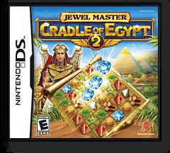 Jewel Master - Cradle of Egypt 2 DS cover (TC2E)