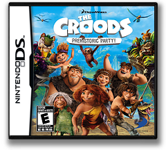 The Croods - Prehistoric Party! DS cover (TCDE)