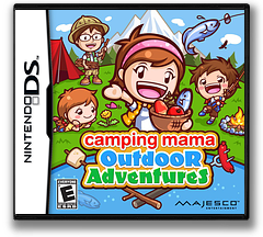 Camping Mama - Outdoor Adventures DS cover (TCME)