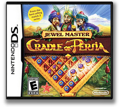 Jewel Master - Cradle of Persia DS cover (TCRE)