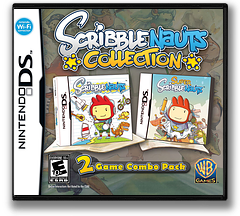 Scribblenauts Collection DS cover (TCSE)