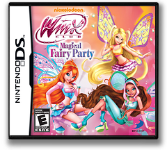 Winx Club - Magical Fairy Party DS cover (TCWE)