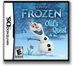 Disney Frozen - Olaf's Quest DS cover (TFBE)