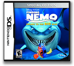 Finding Nemo - Escape to the Big Blue (Special Edition) DS cover (TFNE)