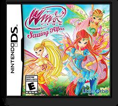 Winx Club - Saving Alfea DS cover (TGPE)