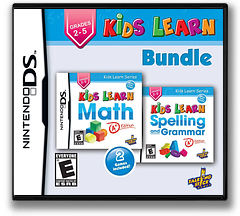 Kids Learn - Math and Spelling Bundle DS cover (TKLE)