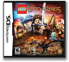 LEGO The Lord of the Rings DS cover (TLRE)