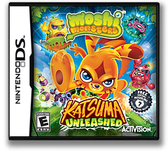 Moshi Monsters - Katsuma Unleashed DS cover (TLVE)