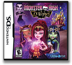 Monster High - 13 Wishes DS cover (TM6E)