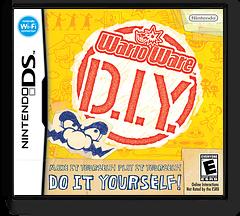 WarioWare - D.I.Y. DS cover (UORE)