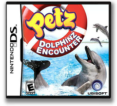 Petz - Dolphinz Encounter DS cover (VBSE)