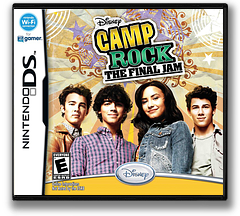 Camp Rock - The Final Jam DS cover (VCME)