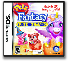 Petz Fantasy - Sunshine Magic DS cover (VFZE)