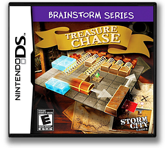 Brainstorm Series - Treasure Chase DS cover (VKHE)