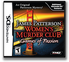 James Patterson Women's Murder Club - Games of Passion DS cover (VMCE)