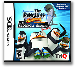 The Penguins of Madagascar - Dr. Blowhole Returns Again! DS cover (VP9E)