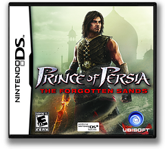 Prince of Persia - The Forgotten Sands DS cover (VPPE)