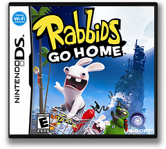 Rabbids Go Home - A Comedy Adventure DS cover (VRGE)