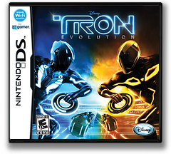 TRON - Evolution DS cover (VTEE)