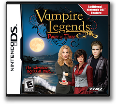 Vampire Legends - Power of Three DS cover (VWVE)