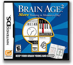 Brain Age 2 - More Training in Minutes a Day! (Demo) DS cover (Y4GE)