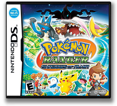Pokémon Ranger - Shadows of Almia (Demo) DS cover (Y4UE)