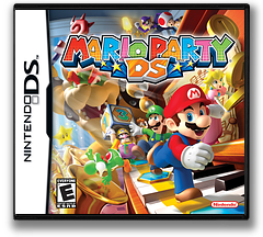 Mario Party DS (Demo) DS cover (Y4YE)