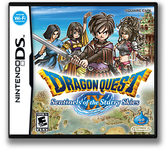 Dragon Quest IX - Sentinels of the Starry Skies DS cover (Y8GE)