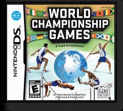 World Championship Games - A Track & Field Event DS cover (YA8E)