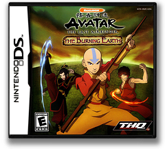 Avatar - The Last Airbender - The Burning Earth DS cover (YAVE)