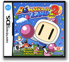 Bomberman Land Touch! 2 DS cover (YB2E)