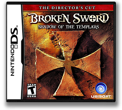 Broken Sword - Shadow of the Templars - The Director's Cut DS cover (YB7E)