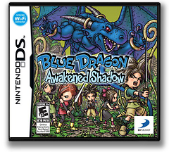 Blue Dragon - Awakened Shadow DS cover (YBUE)