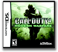 Call of Duty 4 - Modern Warfare DS cover (YCOE)