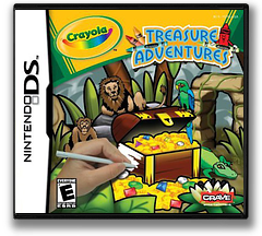 Crayola Treasure Adventures DS cover (YCYE)
