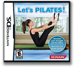 Let's Pilates! DS cover (YDCE)